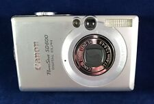 Canon Power Shot SD600 digital camera and leather case