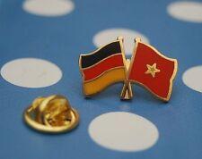 Freundschaftspin Deutschland Vietnam Pin Button Badge Anstecker Asien