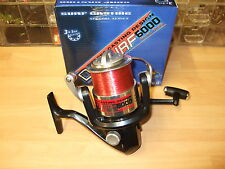 New Beach Surf Casting Reel, Fixed Metal Spool, Front Drag, Red Line, 4 Bearings