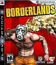 BORDERLANDS 2009 PLAYSTATION 3 Game PS3 Complete vg