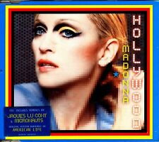 CDM - MADONNA - HOLLYWOOD CD 2 RMXS (DISCO) NUEVO - MINT !!!