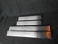 GM # 17802526 Door Sill Plates Front & Rear Stainless Cadillac Logo New 07 -2012