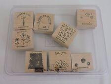 Stampin Up Fun Filled Stamps Set of 8 Make a Wish Shopping Shopaholic