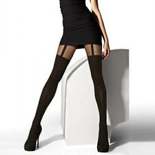 Sexy Women Girls Temptation Sheer Mock Suspender Tights Pantyhose Stockings