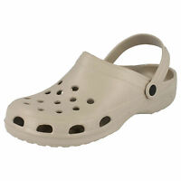 Mens Slip On Synthetic Clog Sandals Style A1115