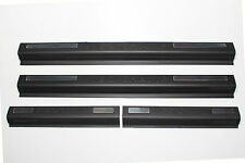 FIT TOYOTA HILUX VIGO CHAMP 2012-2014 4 DOOR MATTE BLACK SCUFF PLATE SIDE DOOR