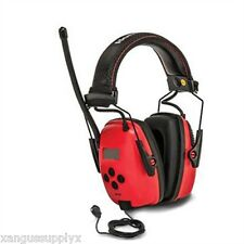 Work Head Phones Hearing Protection Sync Radio Music Tunes  MPC Safety Earmuffs