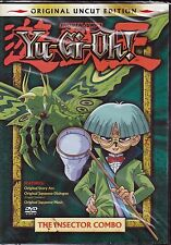 Yu-Gi-Oh Uncut Vol 2 The Inspector Combo DVD Japanese & English 2004 NEW!