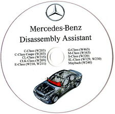 Mercedes Benz Disassembly Assistant Workshop Manual W210 W220 W211 W163 W203