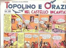 TOPOLINO SUPPLEMENTO GIORNALE NERBINI 1934 ORAZIO VALLECCHI COPIA ANASTATICA