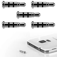 5pc Mini Quick Button Dustproof Plug 3.5mm iKey Smart Key Samsung LG HTC Android