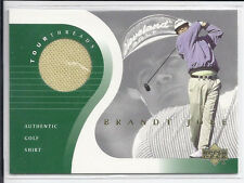 2001  Upper Deck  GOLF Tour Threads Shirt BRANDT JOBE