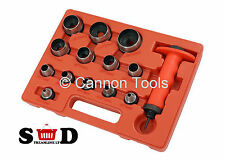 """14PC 5-35MM 3/16"""" 3/8"""" LEATHER RUBBER PLASTIC FOAM CUTTING HOLLOW PUNCHES CT1540"""