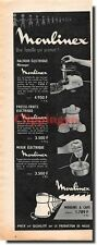 Publicité Advertising 1959 - Moulinex Moulins à Café -  (Advertising paper)