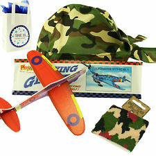 Boys Ready To Fill Army Party Bag- Thank You For Coming To My Party - CAMOUFLAGE