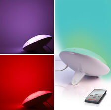 Mathmos Color Changing Touch-Activated Wall Wash Mood Light with Remote