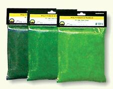 JTT Scenery Products Medium Green Poly-Fiber Strands, 30 cubic inches 95077