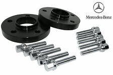 (2) 12mm 5x112 Mercedes Benz Rear Wheel Hub Centric Spacers Kit | With Bolts