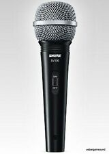 (One)  Shure SV100-W Dynamic Cardioid Multi-Purpose Microphone w/15 foot Cable