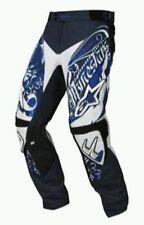 Motocross Alpinestars Black Blue White Charger Crusader MX Pant Racer Trousers