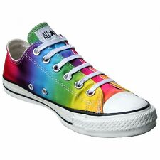 Converse All Star Chucks Scarpe EU 37,5 UK 5 Rainbow Limited Edition OX