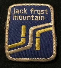 JACK FROST Skiing Ski Patch Pennsylvania PA BIG BOULDER Souvenir Travel Ecusson