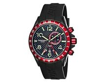 Torgoen T20306 Swiss Made Carbon Fiber GMT Dual Time Alarm Pilot Watch MSRP $625