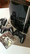 Sony Playstation 3, CECHH01 includes 2 SixAxis controllers, cords, games