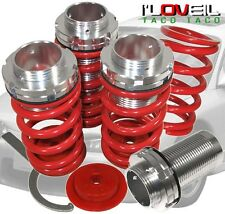 88-00 CIVIC CRX DEL SOL INTEGRA HIGH/LOW COIL SPRING COILOVER KIT RED