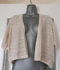 Per Una Marks and Spencer Neutral Colour Loose Cardigan-Size NEW 16 rrp £29.50