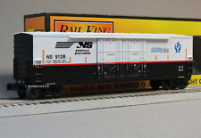 MTH RAIL KING NS 50' DOUBLE DOOR PLUGGED BOX CAR o gauge train boxcar 30-74832