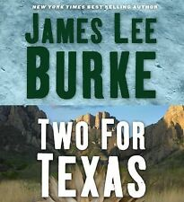 TWO FOR TEXAS unabridged audio book on CD by JAMES LEE BURKE