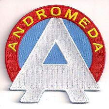 """Space:1999 Andromeda """"A"""" Logo  3"""" Wide Uniform Patch- FREE S&H  (SPPA-1912)"""