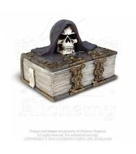 ALCHEMY GOTHIC - THE VAULT - THE ALCHEMIST'S BOX - RESIN CARD HOLDER TRINKET BOX