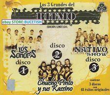 Los Sonors,Nativo Show,chucho Pinto y sus Kassino Box set 3CD New Nuevo
