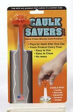 Caulk Saver Tube Plug also Use with Silicones Adhesives Cements Grease