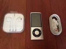 Apple 16GB iPod Nano 5th Generation Silver Camera A1320