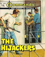 Commando For Action & Adventure Comic Book Magazine #1444 HIJACKERS