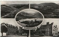 Scotland Postcard - Views of Tomintoul - Real Photograph   ZZ1057