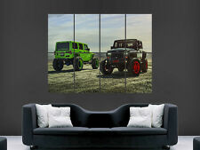 JEEP WRANGLER ADV1  4X4 CAR  GIANT WALL POSTER ART PICTURE PRINT LARGE HUGE