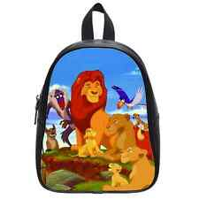 Brand New Lion King Custom Kid's School Bag Backpack(Large)