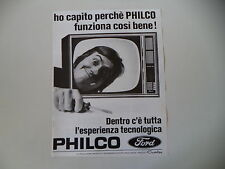 advertising Pubblicità 1971 TELEVISORE PHILCO