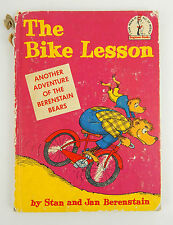 The Bike Lesson by stan and Jan berenstain (another adventure) Fair Cond