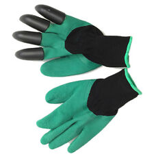 1 Pair Garden Work Mud Sand Digging Gloves Plant Hand Protectors Rubber Gloves