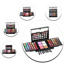 Pro 78 Full Color Makeup Cosmetic Eyeshadow Blush Palette Set Big Kit Beauty