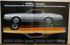 1971 double page magazine ad for Mercury - Montego MX Brougham, Marquis