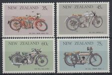 New Zealand 1986 ** Mi.954/57 Motorräder Motorcycles Motorbikes [sq6868]