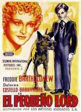 Film Little Lord Fauntleroy 1936 04 A3 Box Canvas Print
