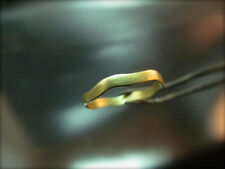 14k handmade solid  Yellow or white gold Wedding ring for woman