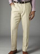 Daniel Hechter linen trousers 100 % Linen 80cm 31.5 inch waist  29.5 ins  (cp14)